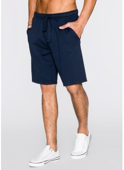 Short matière sweat Regular Fit, bpc bonprix collection, bleu foncé
