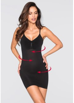 Robe modelante seamless, bpc bonprix collection, noir