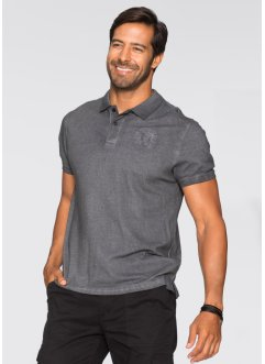 Polo Regular Fit, bpc selection, gris foncé
