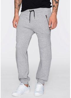 Pantalon sweat Slim Fit, RAINBOW, gris clair chiné