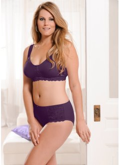 Soutien-gorge moulé, bpc bonprix collection, myrtille