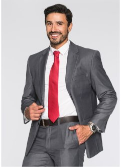 Veste de costume Regular Fit, bpc selection, gris chiné