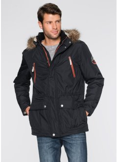 Parka rembourrée Regular Fit, bpc bonprix collection, noir
