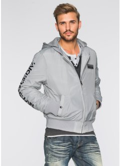 Blouson Regular Fit, RAINBOW, argent mat