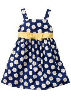Robe, bpc bonprix collection, bleu nuit imprimé marguerites
