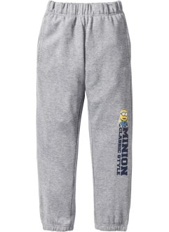 Pantalon sweat MINIONS, Despicable Me 2, gris clair chiné