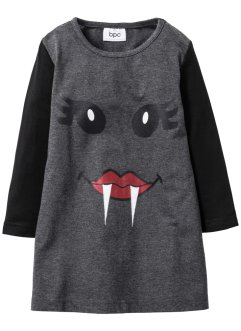 Robe pour Halloween, bpc bonprix collection, noir/anthracite