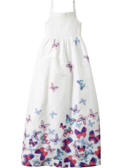 Robe longue, bpc bonprix collection, blanc imprimé