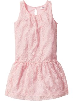Robe en dentelle, bpc bonprix collection, rose poudré