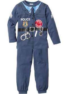 Pyjama (Ens. 2 pces.), bpc bonprix collection, Pyjama Policier