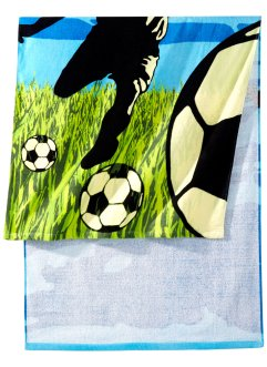 Serviette de plage Football, bpc living, multicolore