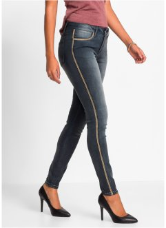 Jean extensible, BODYFLIRT, noir denim used