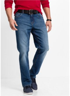 Jean extensible Classic Fit STRAIGHT, John Baner JEANSWEAR, bleu