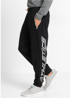Pantalon de jogging matière Sweat fonctionnel Slim Fit, RAINBOW, noir