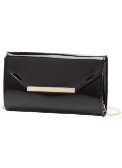Pochette vernie, bpc bonprix collection, noir