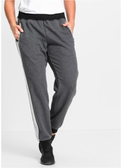 Pantalon matière sweat, bpc bonprix collection, anthracite chiné