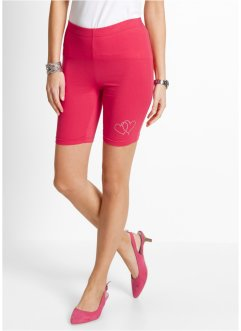 Leggings courts, bpc selection, rose hibiscus