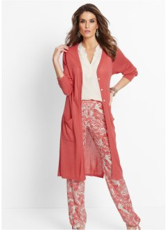 Gilet long, bpc selection premium, corail