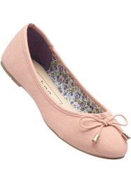 Ballerines, bpc bonprix collection, vieux rose