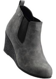 Bottines compensées, bpc bonprix collection, anthracite
