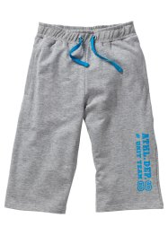 Bermuda sweat, bpc bonprix collection, gris clair chiné