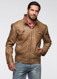 Blouson simili cuir Regular Fit, bpc bonprix collection