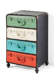 Commode Trunks, bpc living, multicolore