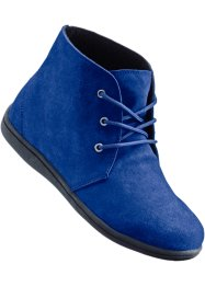 Bottines en cuir, bpc bonprix collection, bleu roi