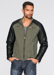 Blouson simili cuir Regular Fit, RAINBOW