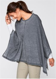 Poncho sweat look usé, bpc bonprix collection