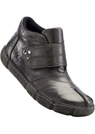 Bottines en cuir, bpc selection, gris