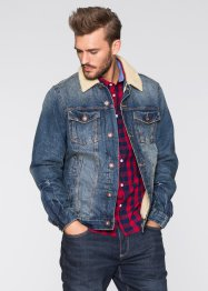 Blouson en jean thermo Slim Fit, RAINBOW
