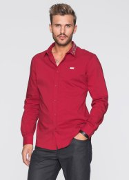 Chemise manches longues extensible Slim Fit, RAINBOW