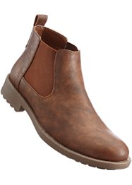 Bottines Chelsea, bpc bonprix collection, cognac