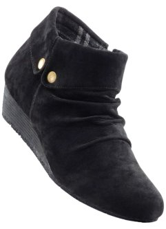 Bottines compensées, bpc bonprix collection, noir