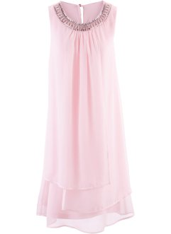Robe avec application, bpc selection premium, rose clair