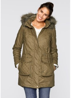 Parka 2en1 enduite, bpc bonprix collection