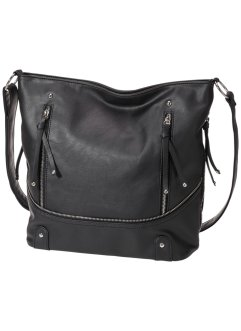 Le sac shopper avec zip, bpc bonprix collection, noir