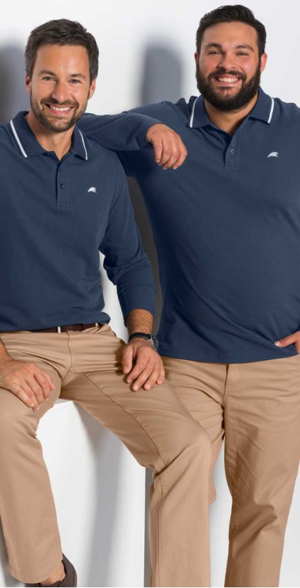 Homme - Grandes tailles - Mode homme - Polos