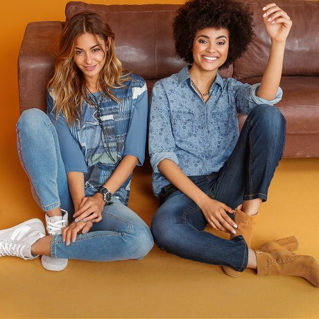 Femme - Tendances & occasions - Collections - Denim Days