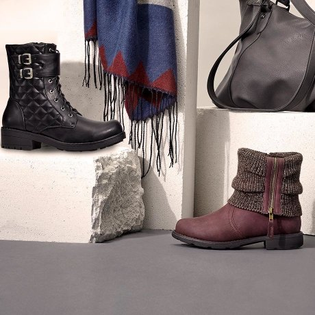 Femme - Tendances & occasions - Collections - Collection automne - Chaussures & accessoires