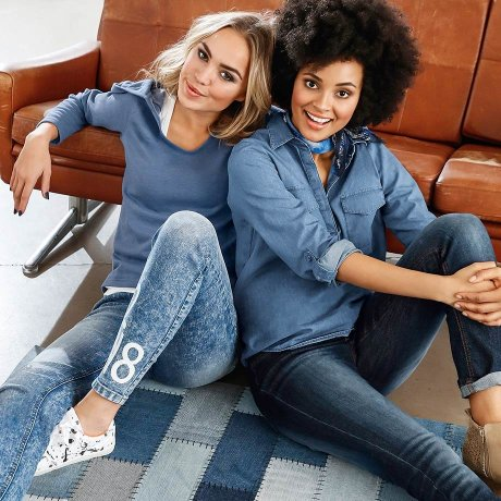 Femme - Tendances & occasions - Collections - Denim Forever
