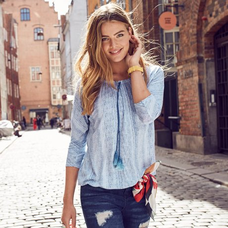 Femme - Tendances & occasions - Collections - Denim cool