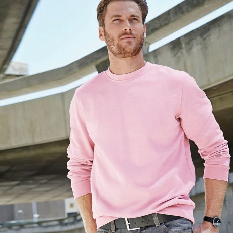 Homme - Sweatshirt regular fit - rose