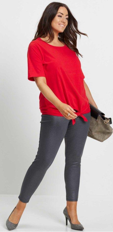 Femme - Legging brillant - gris ardoise métallisé. Legging brillant bpc  selection 4de2c3f9eb9