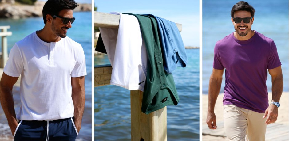 Homme - Mode - T-shirts