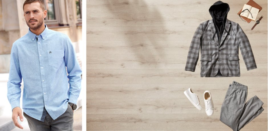 Homme - Inspiration - Collections - Casual chic