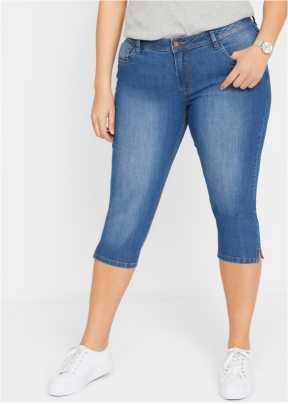 Original Femmes Haut Taille Jeans Stretch Pantalons Skinny Bustier Guêpière Look
