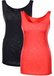 Lot de 2 tops, BODYFLIRT