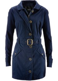 Trench-coat, bpc bonprix collection, bleu foncé